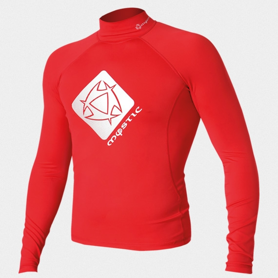 Mystic Star Rash Vest Men L/S