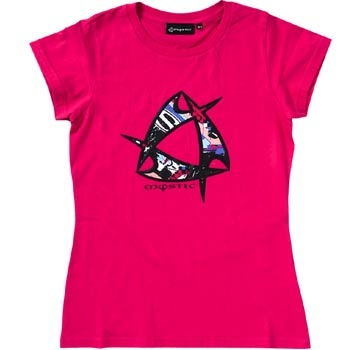 Mystic Meshed Tee Pink